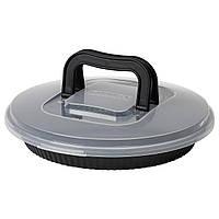 IKEA LOCKBETE Форма для выпечки с крышкой, черная  (904.346.83)