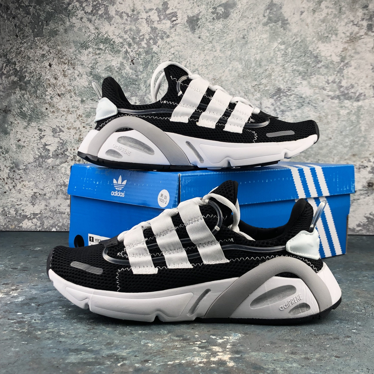 Мужские кроссовки Adidas Yeezy Boost 600 Lexicon Blackwhite