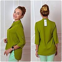 Блузка женская, модель 749, цвет яблоко