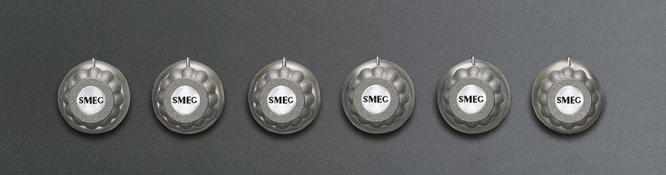 Набор ручек для газовых плит Smeg 6MP700BS