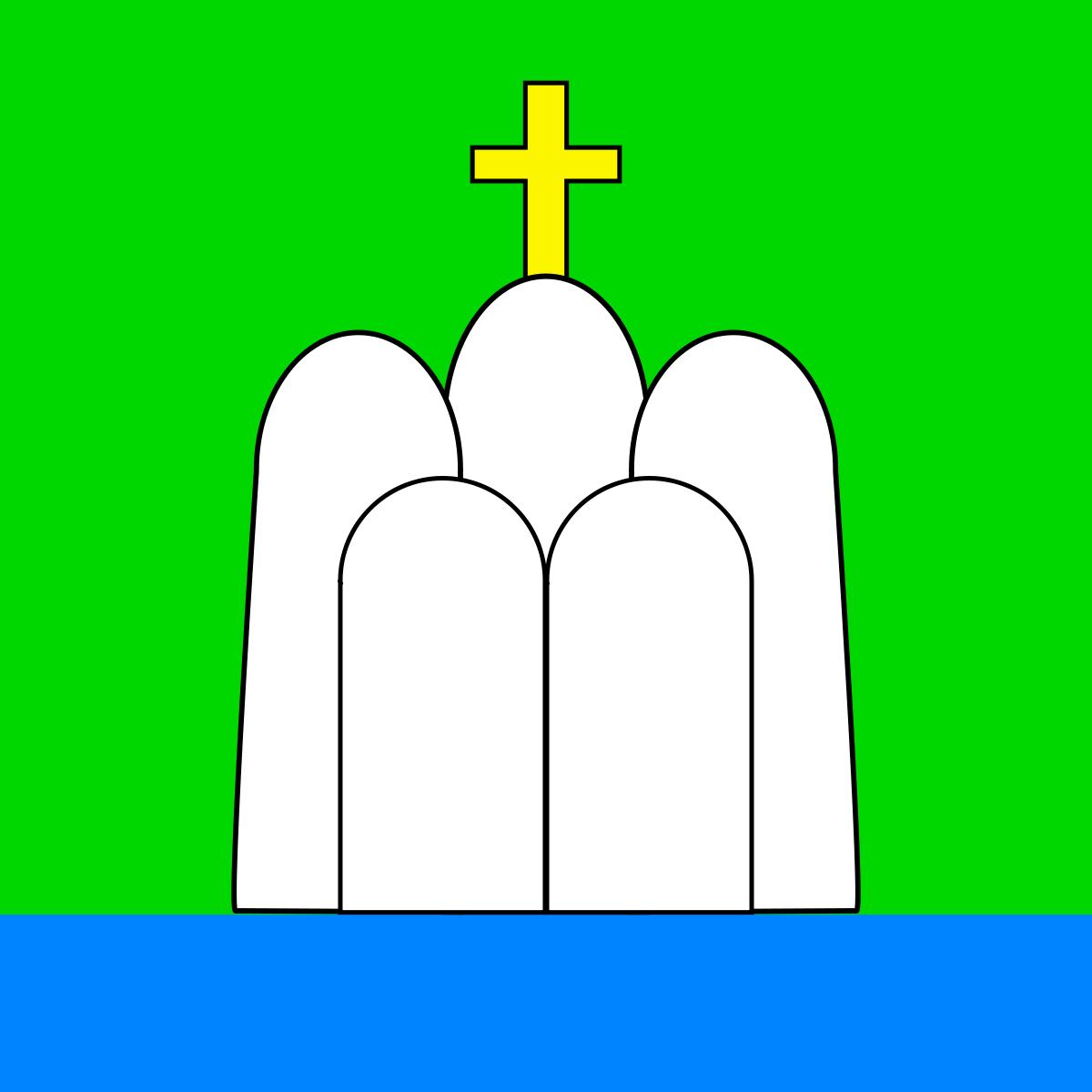 Флаг Святогорска