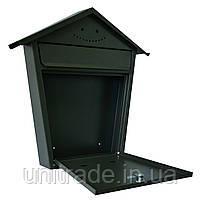 Ящик почтовый РВ-06 Ferocon, 43x47x7 см. серый , фото 3