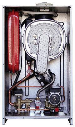 Газовий конденсаційний котел 99 квт BAXI LUNA DUO-TEC MP 1.99