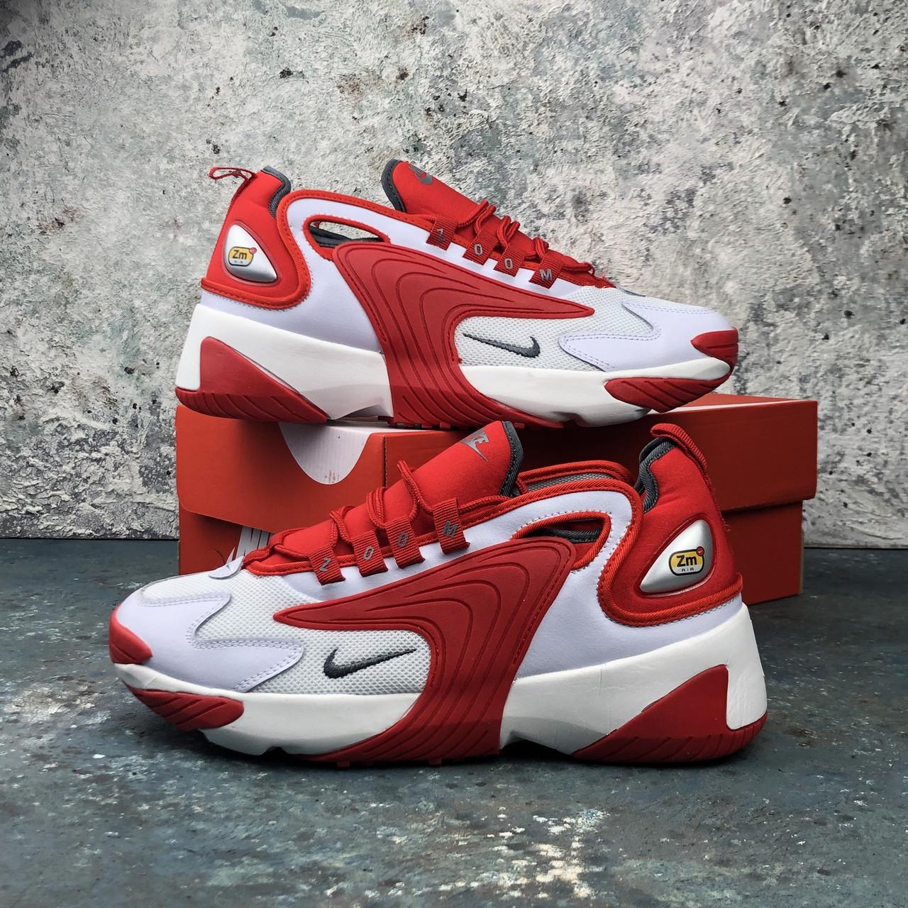Мужские кроссовки Nike Retro Zoom Red\White