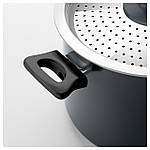 IKEA SKANKA Кастрюля с крышкой, серый  (401.294.59), фото 7