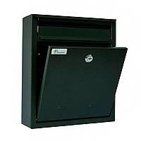 Ящик почтовый РВ-03 Ferocon, 26x38x7 см. серый , фото 1