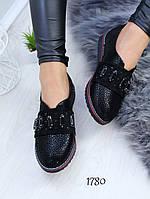Женские туфли мокасины весенние, фото 1