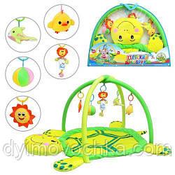 Коврик для малышей 898-12 B/0228-1 R мягкая черепаха