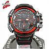 Часы Casio G-Shock GW-A1100 black/red. Реплика ТОП качества!