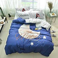 Комплект постельного белья Луна (полуторный) хлопок