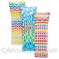 Пляжный надувной матрас 59711 Intex