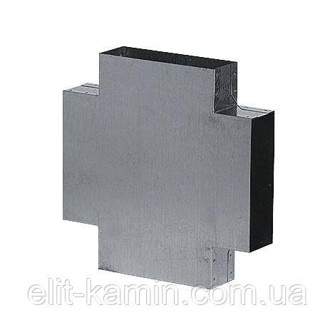 X - канал оцинкованное для системы прямоугольных каналов (150х50 мм)