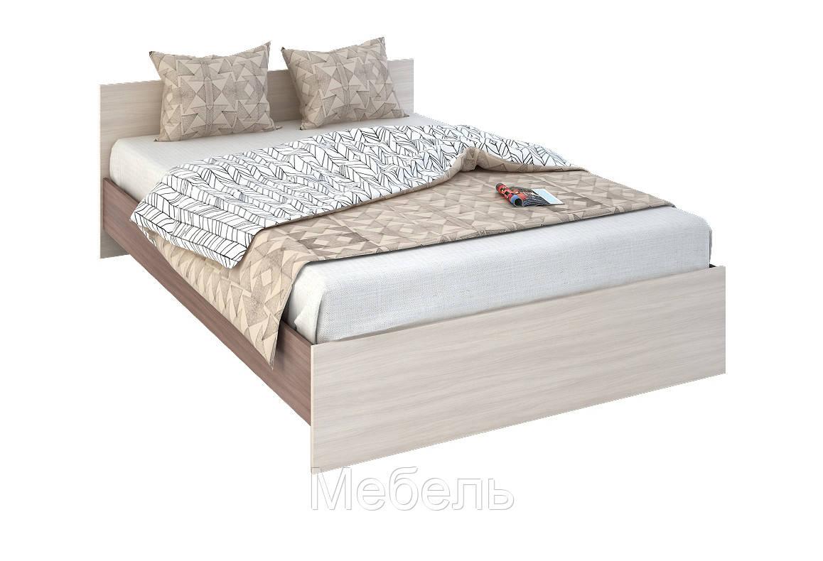 Кровать 140 Сурская Мебель 700*2032*1452