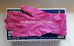 Нитриловые перчатки Akzenta розовый горизонт 100 шт