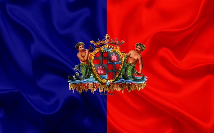 Флаг ФК Кальяри