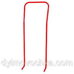 Ручка - толкатель для санок 7510, 89х34х14 см, Vitan, ярко красная