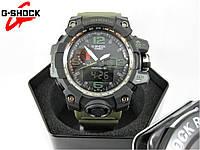 Годинник Casio G-Shock GWG-1000 Black/Green MILITARY. Репліка ТОП якості!