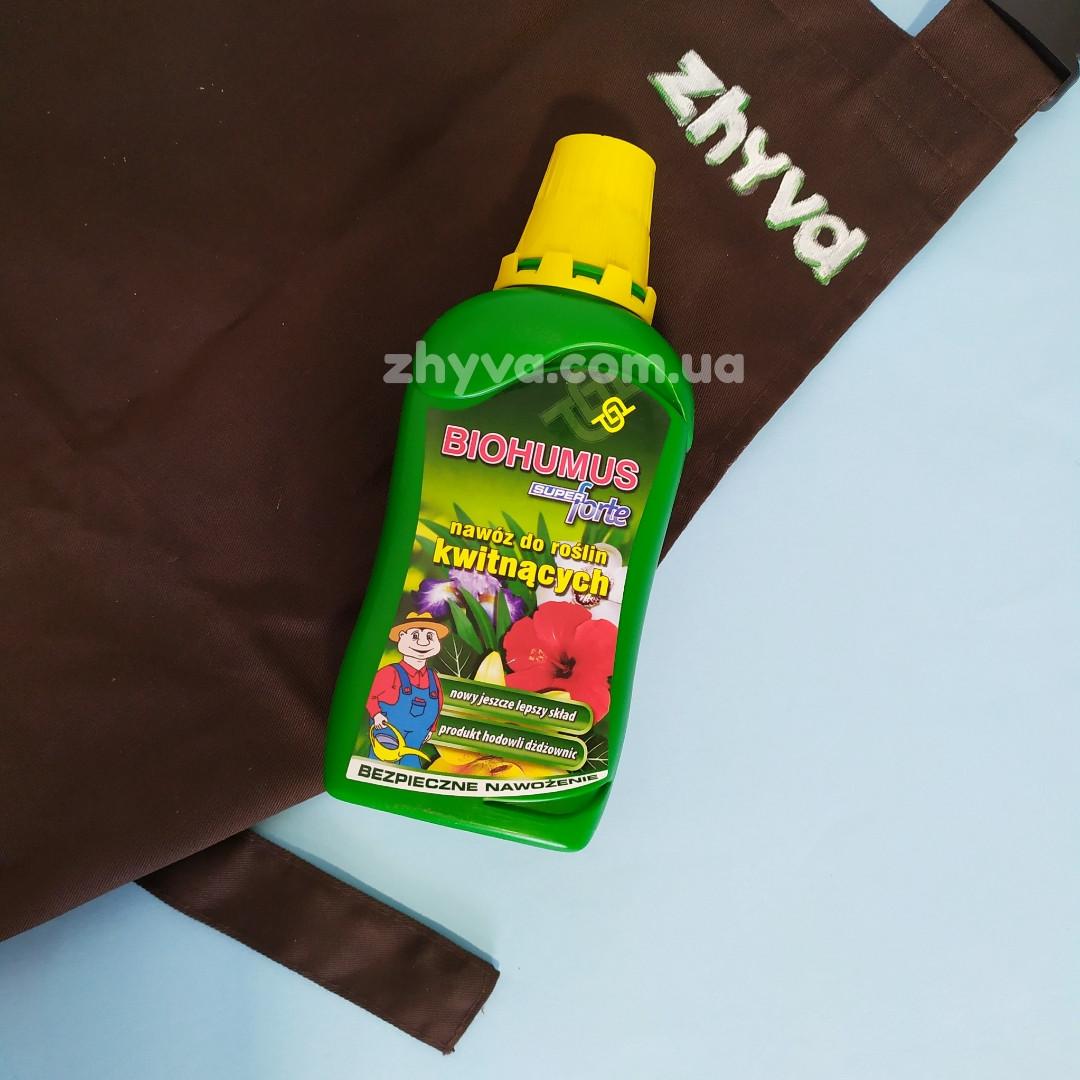 Добриво Біогумус Super Forte до квітучих рослин Agrecol 350мл