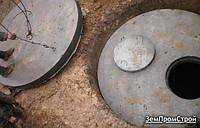 Копка септика с переливом