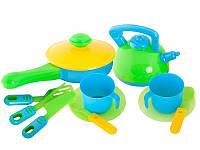 Набор игрушечной посуды Kinderway 04-432, 13 предметов