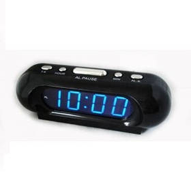 Часы сетевые 716-5 синие