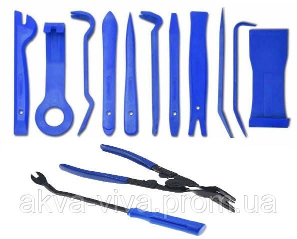Инструменты для снятия обшивки (облицовки) авто (13 шт).