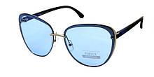 Женские красивые очки от солнца с голубыми линзами 2019 Furlux