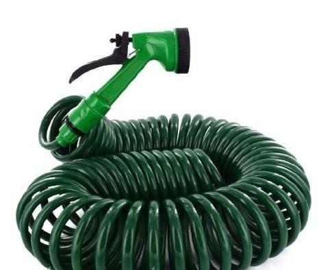 Спиральный шланг Garden Hose - купить шланг для полива, фото 1