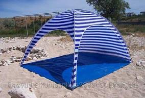 Пляжный тент Coleman 1038 Размер 240х240 см. Высота 160 см.