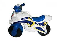 Каталка толокар мотоцикл Байк Полиция 0139/510 Фламинго тойс