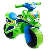 Детский мотоцикл-толокар Байк Полиция 0139/52 Фламинго-Тойс