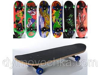 Скейт детский MS 0354-3 Profi, 6 видов