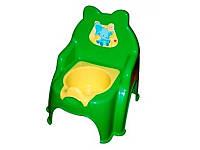 Горшок детский №2 013317-1 Фламинго-Тойс зеленый