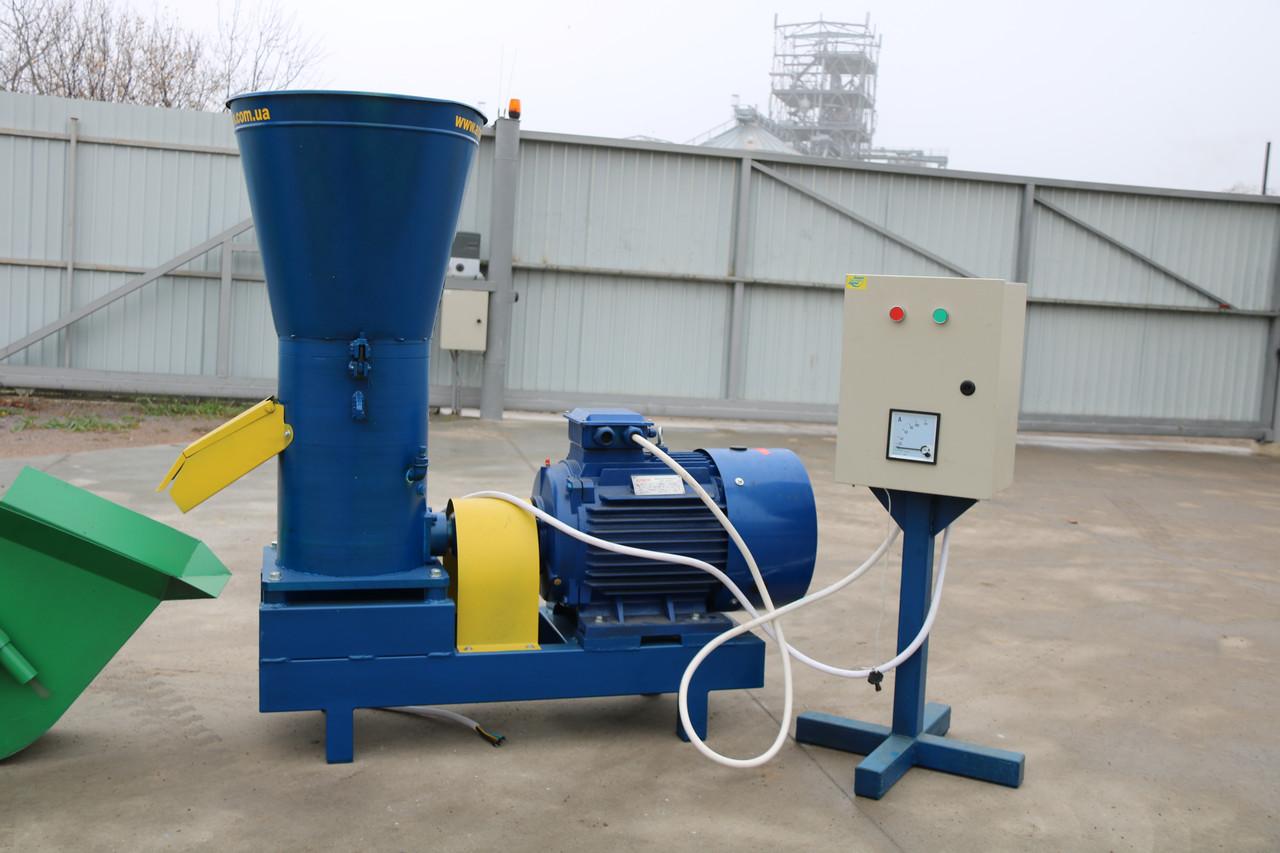Гранулятор двухскоростной 13-17 кВт для топливных пеллет и комбикорма