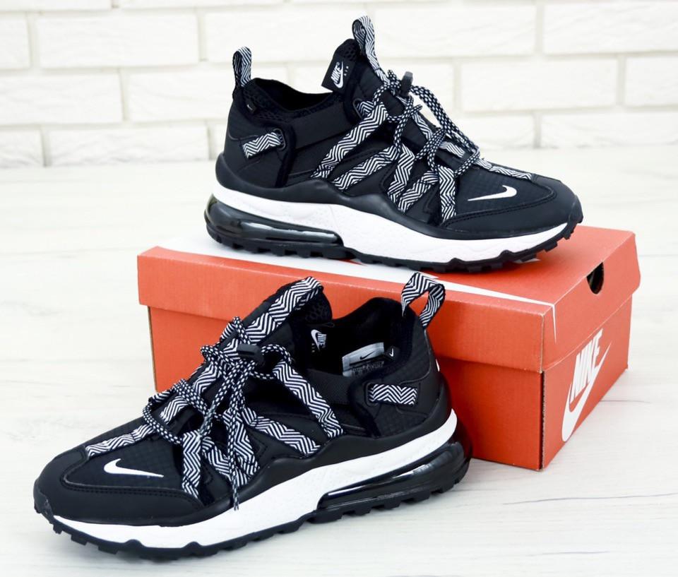 Мужские кроссовки Nike Air Max 270 Bowfin Black. [Размеры в наличии: 42,43,44]