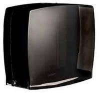 Диспенсер для листовых z-полотенец (черный)