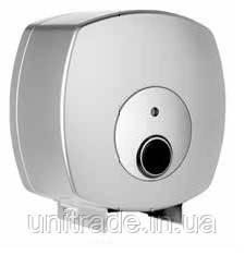 Диспенсер для туалетной бумаги джамбо (серый)