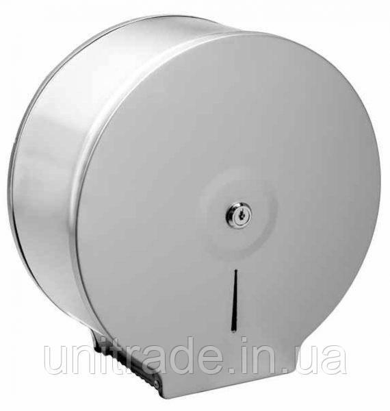 Металлический  диспенсер для  туалетной бумаги джамбо