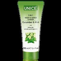 Средство по уходу за кожей лица 3 в 1 Unice