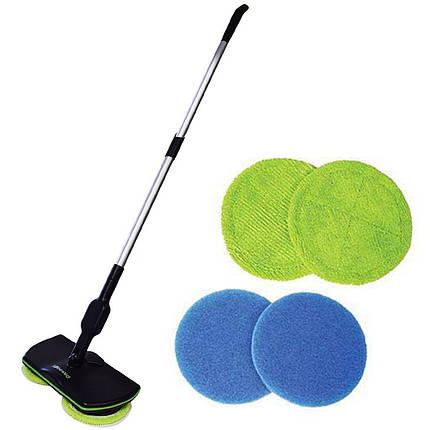 ✸Швабра Super Maid аккумуляторная ручная для уборки чистки пола дома офиса беспроводная уборочная, фото 2