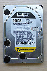 "Жесткий диск Western Digital 500GB 3.5"" Б\У (WD5002ABYS)"