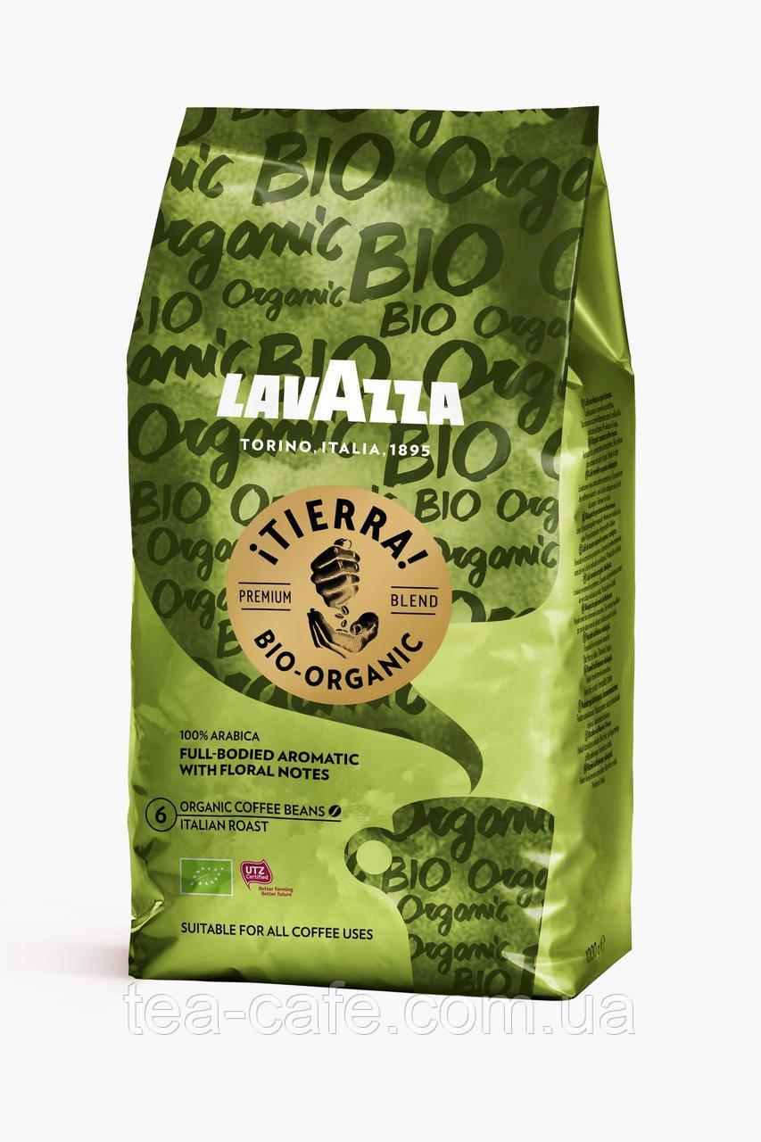 Кофе Lavazza Tierra Bio Organic в зернах 1 кг