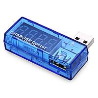 Ϟ Вольтметр/амперметр Charger doctor KW201 универсальный для измерения вольтажа USB тестер тока напряжение 12V