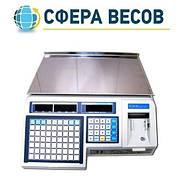 Весы электронные с термопечатью CAS LP (в. 1.6) RS-232 без стойки (6 кг, 15 кг, 30 кг)