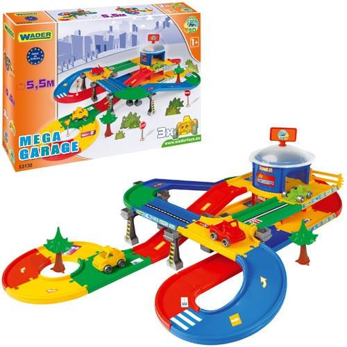 Игровой набор Паркинг с трассой Kid Cars 3D Wader 5,5 м