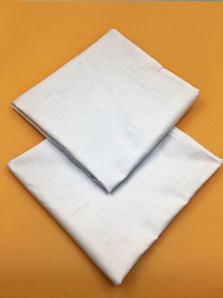 Наволочка (2 шт.) из бязи 80х80,белая
