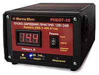 """Роботезированное пуско-зарядное устройство РОБОТ-30 12В/24В  30А/20А """"исскуственный интеллект"""" Master Watt"""