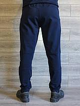 Штаны мужские синие манжет Puma реплика, фото 2