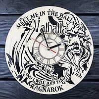 Тематические интерьерные настенные часы «Vikings», фото 1