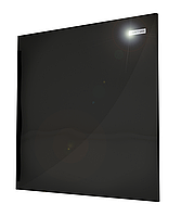 Камин 475 Вт. Инфракрасный керамический электрический обогреватель Черный 600х600, фото 1